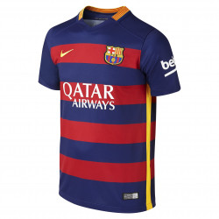 Maillot de football Nike Junior FC Barcelona Stadium Home 2015/2016