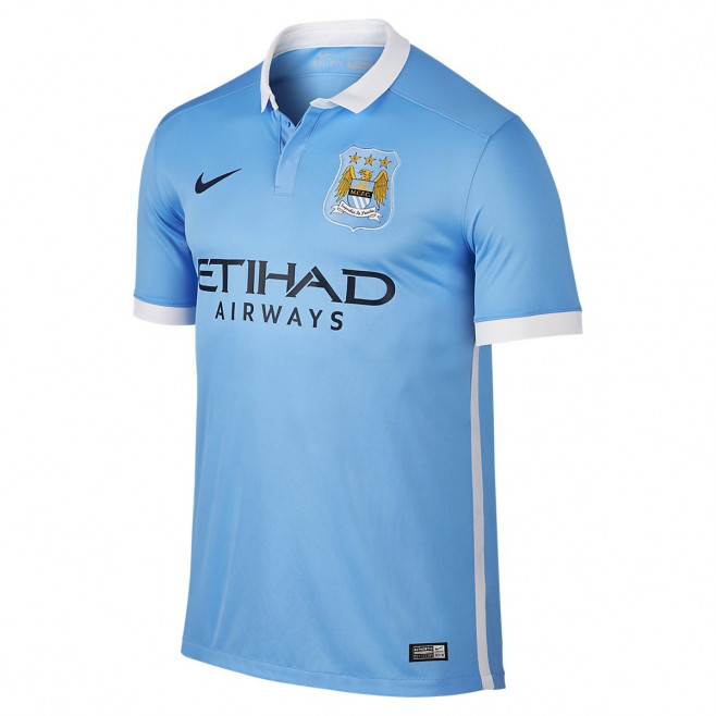 Maillot Nike Manchester City Stadium Home 2015/2016 - Ref. 658886-489