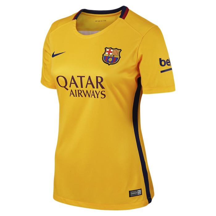 Maillot de football Nike FC Barcelona Lady Away Replica 2015/2016