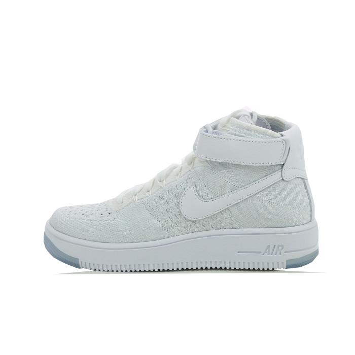 Basket Nike Air Force 1 Ultra Flyknit - Ref. 818018-100