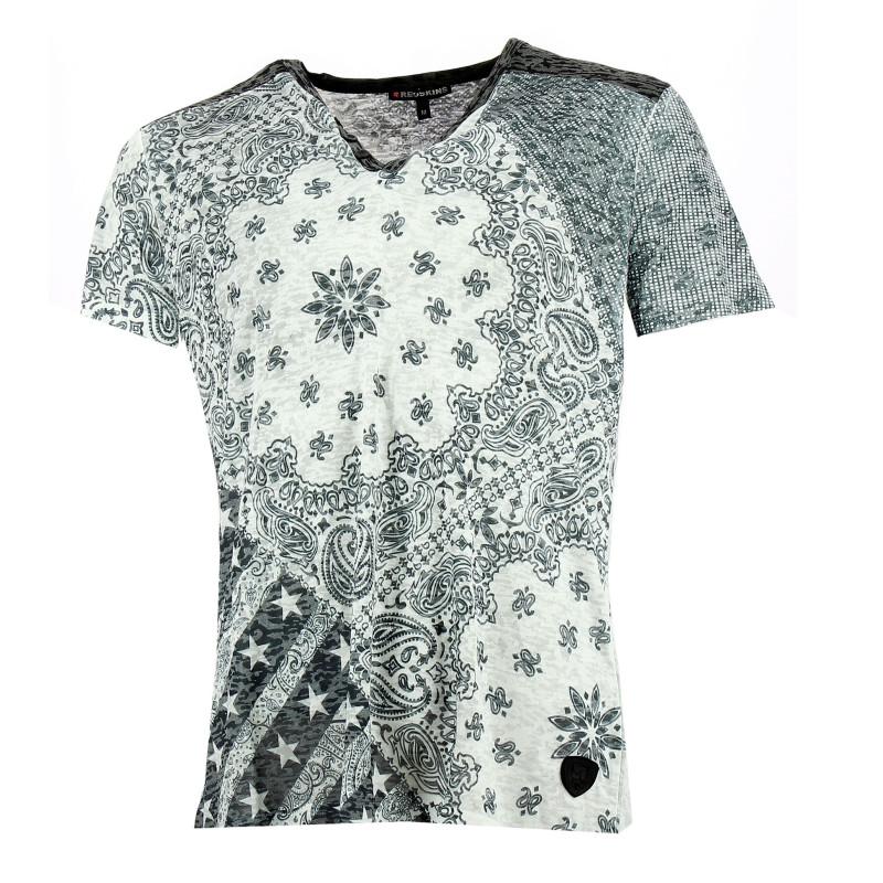 Tee-shirt Redskins Quino Tiamat (Gris)