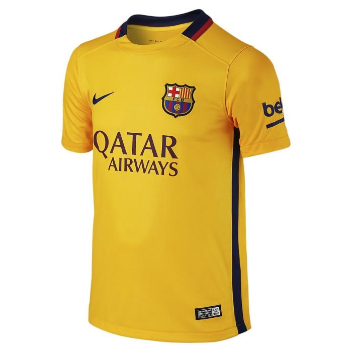 Maillot Nike Junior FC Barcelona Stadium Away 2015/2016
