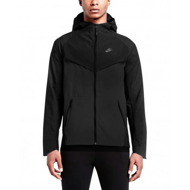 Veste coupe-vent Nike Tech Fleece Windrunner - Ref. 727349-010