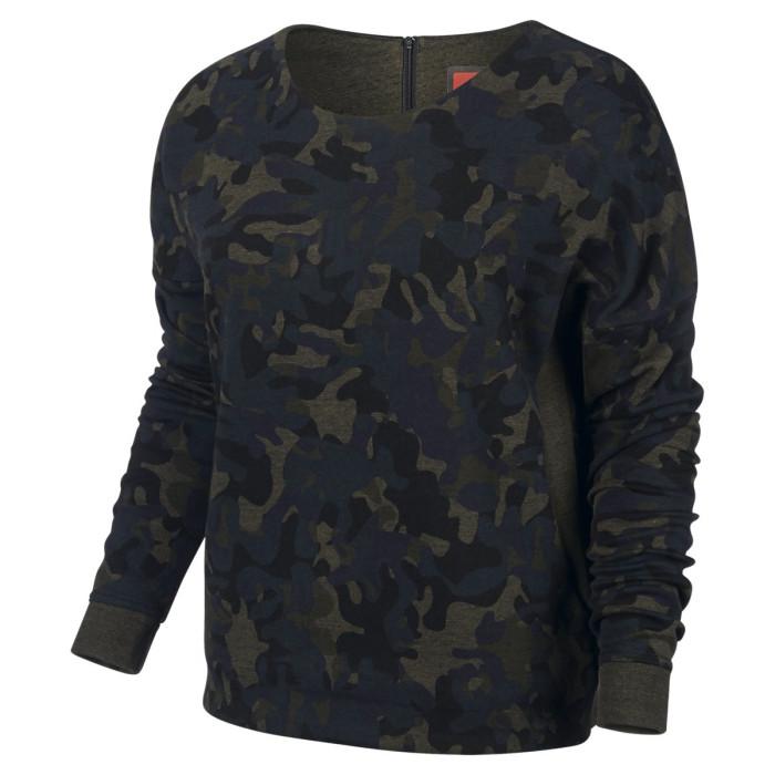 Sweat Nike Tech Fleece Camo Crew - Ref. 683796-325
