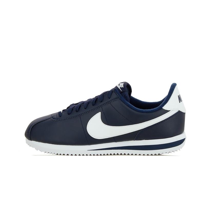 Basket Nike Classic Cortez Leather Navy - Ref. 819719-410