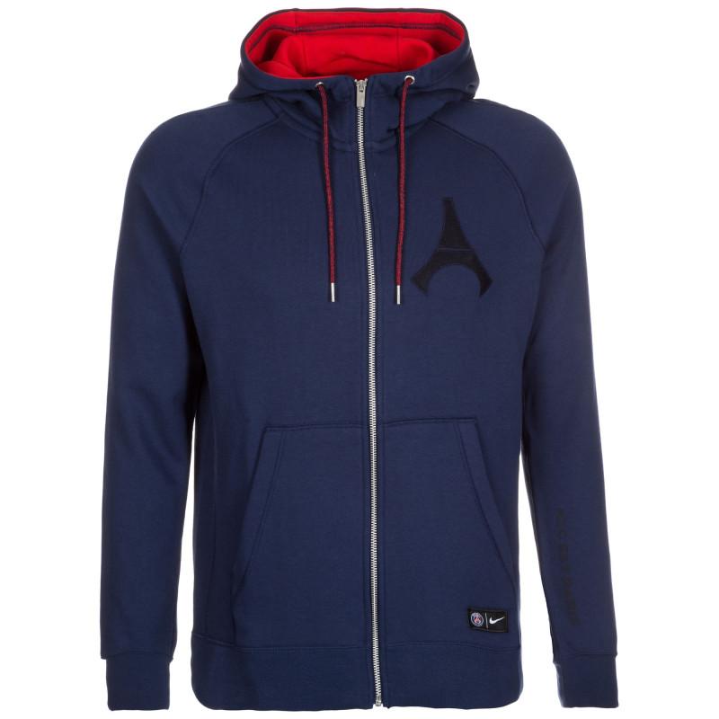 Sweat Nike PSG Hoodie Full-zip Authentic - Ref. 810292-410