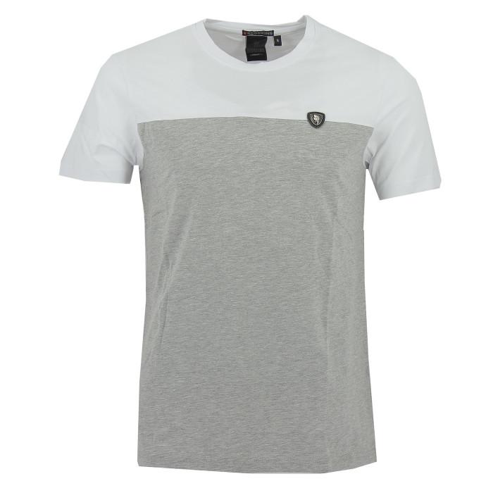 Tee-shirt Redskins Zeus Warner (Gris/Blanc)