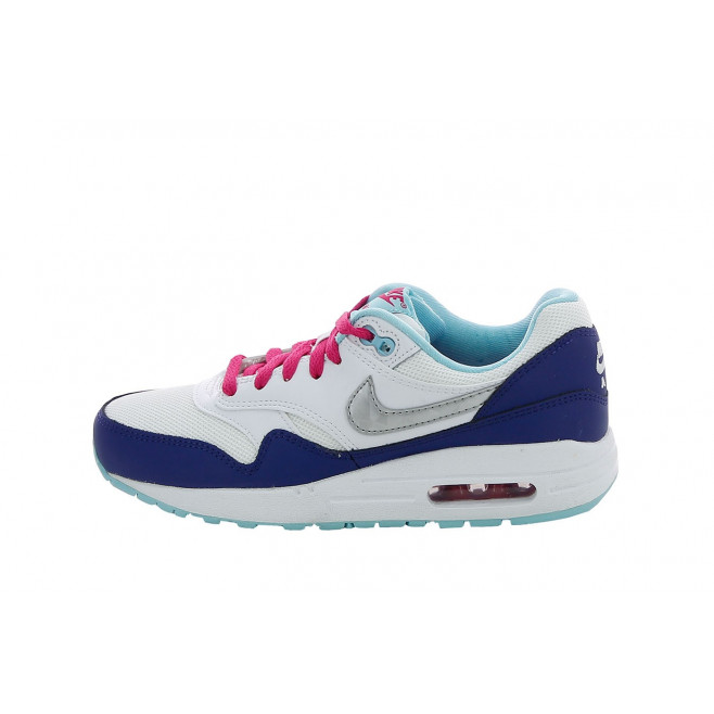 Basket Nike Air Max 1 Junior - Ref. 653653-100