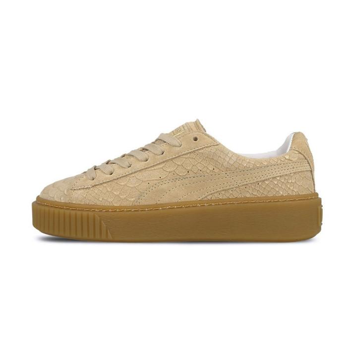 Basket Puma Suede Platform Exotic Skin - Ref. 363377-02