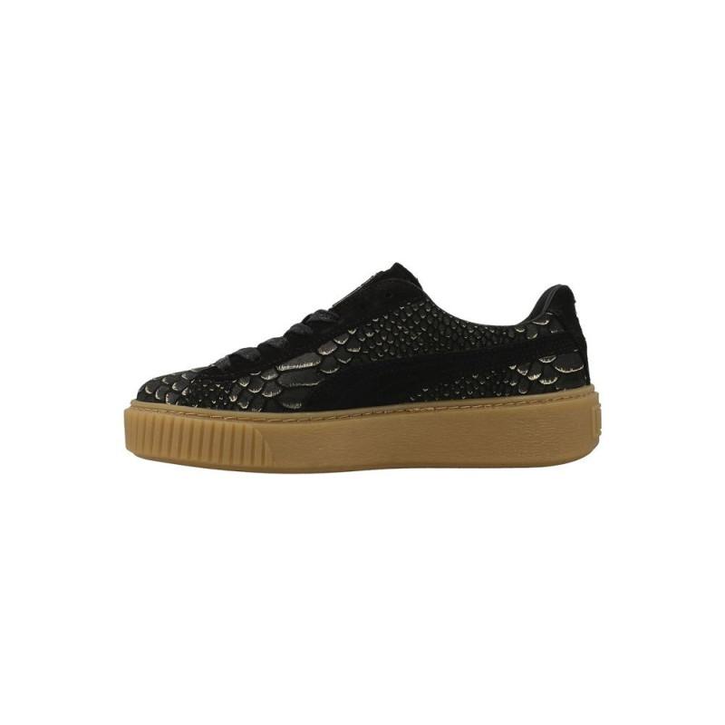 Basket Puma Suede Platform Exotic Skin - Ref. 363377-01