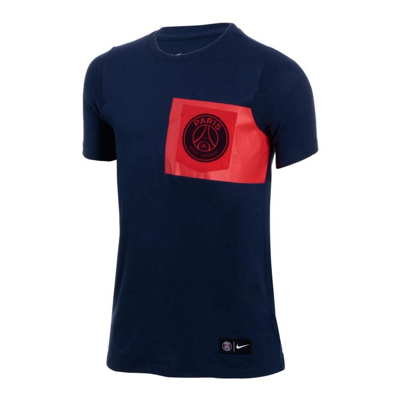 Tee-shirt Nike PSG Crest Junior - 874730-410