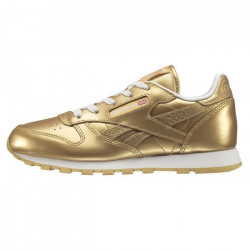 Basket Reebok Classic Leather Metallic Cadet - Ref. BS7457