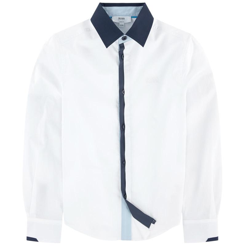 Chemise à manches longues Hugo Boss Junior - Ref. J25A81-10B
