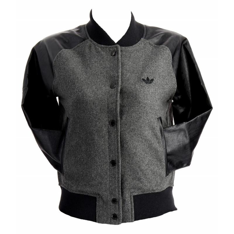 Adidas Originals Blouson adidas Originals Glam Wool Varsity - X51205
