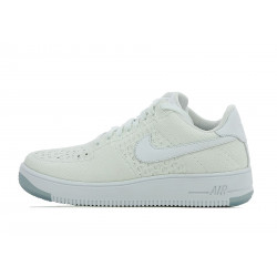 Basket Nike Air Force 1 Flyknit Low - 820256-101