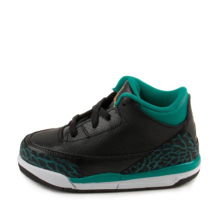 Basket Nike Air Jordan 3 Retro TD Bébé - Ref. 654964-018