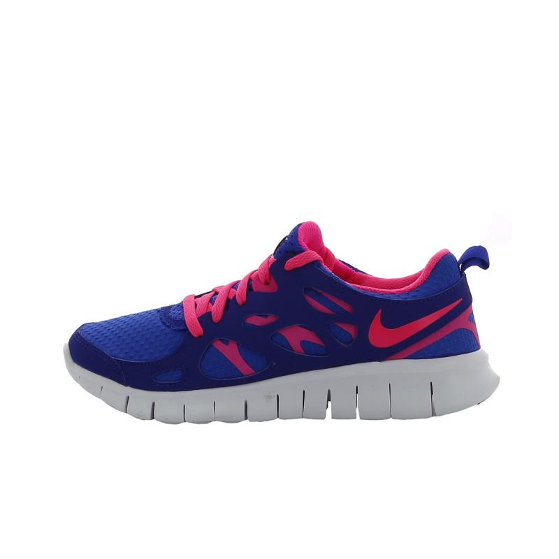 magasin en ligne ab926 bede8 Basket Nike Free Run 2 (GS) - 477701-401 - DownTownStock.Com