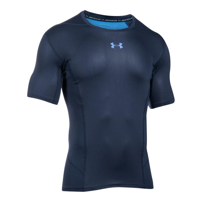 Tee-shirt Under Armour HeatGear Supervent Armour Compression - Ref. 1289557-411
