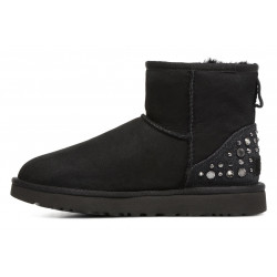 Bottine UGG Mini Studded Bling - Ref. MINISTUDDEDBLING-BLACK