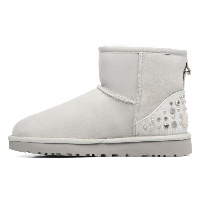 Bottine UGG Mini Studded Bling - Ref. MINISTUDDEDBLING-GREYV