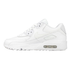 Basket Nike Air Max 90 Leather Junior - Ref. 833412-100