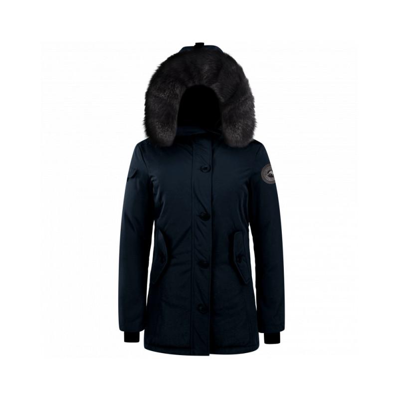 parka helvetica expedition femme black edition bleu marine downtownstock com. Black Bedroom Furniture Sets. Home Design Ideas