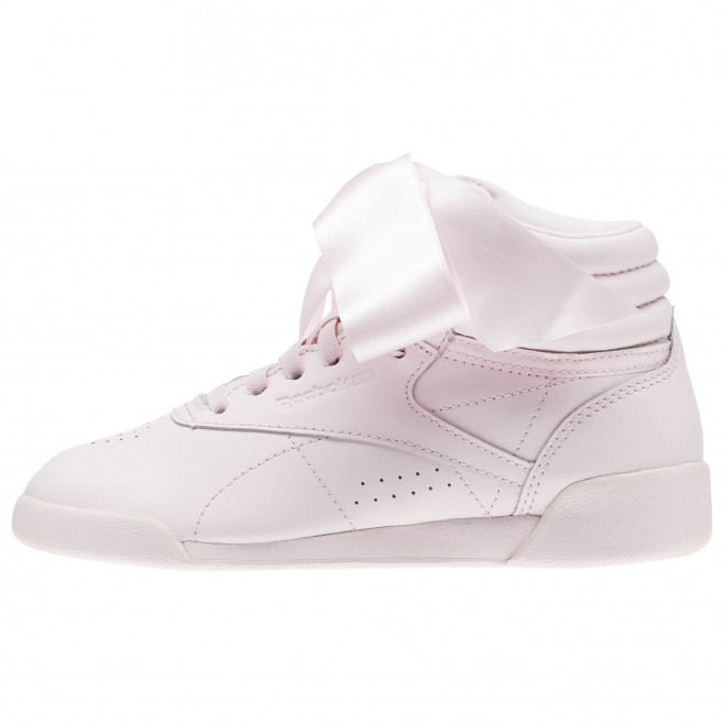 Basket Reebok Freestyle Hi Satin Bow Cadet Ref. CN2026 DownTownStock.Com