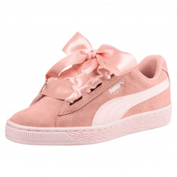 Basket Puma Suede Heart Jewel Junior - Ref. 365138-01