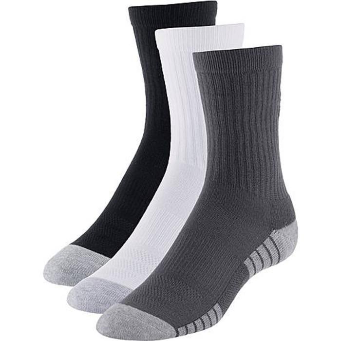 Pack 3 paires de chaussettes Under Armour HeatGear Tech Crew - Ref. 1312341-040