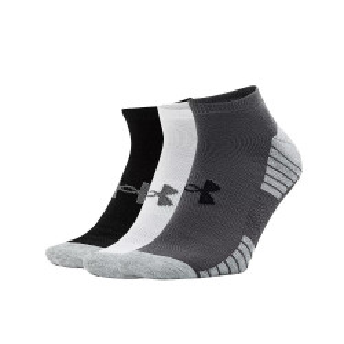 Pack 3 paires de chaussettes Under Armour HeatGear Tech No Show - Ref. 1312439-040
