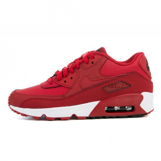 Basket Nike Air Max 90 Leather Junior - Ref. 833412-600