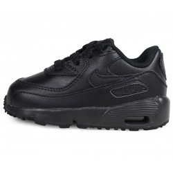 Basket Nike Air Max 90 Leather Bébé - Ref. 833416-001