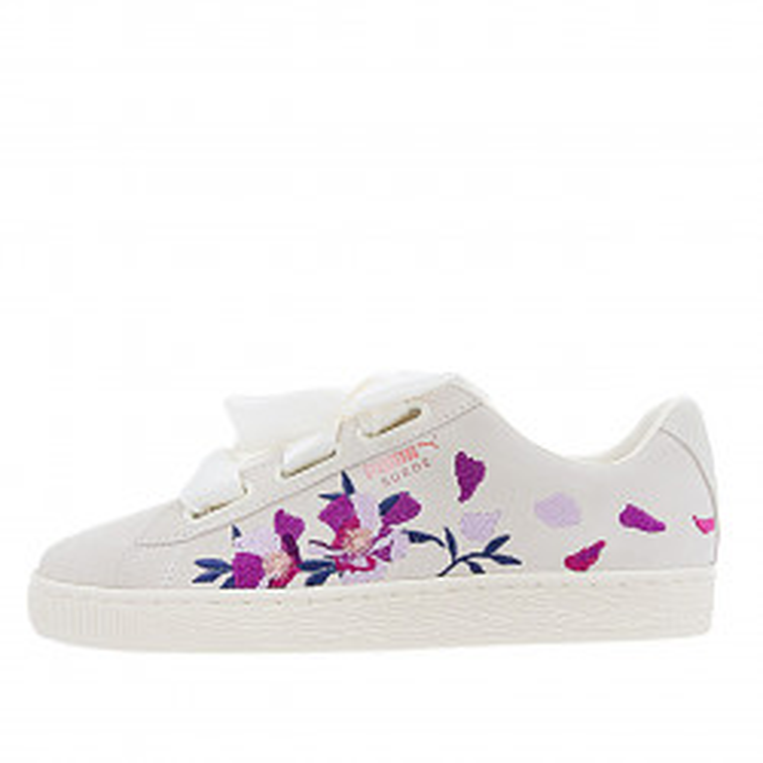 Basket Puma Suede Heart flowery - Ref. 367811-02