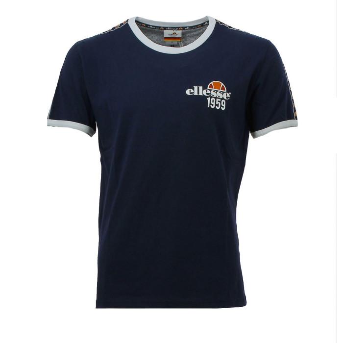 Tshirt Ellesse EH TMC BANDE - EH-TMC-BANDE-BLEU
