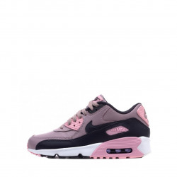 Basket Nike Air Max 90 Leather Junior - 833376-602