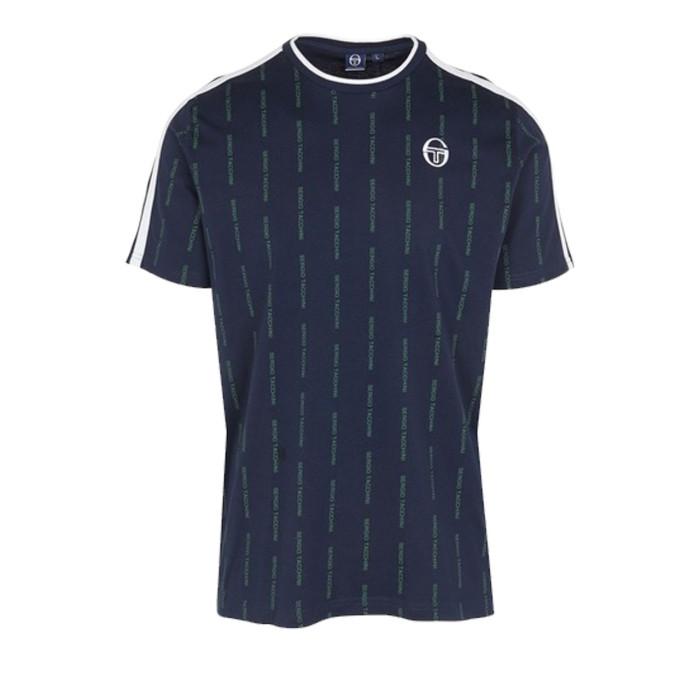 Teeshirt Sergio Tacchini PINSTRIPE T SHIRT - 37887-219-PINSTRIPE-T-SHI