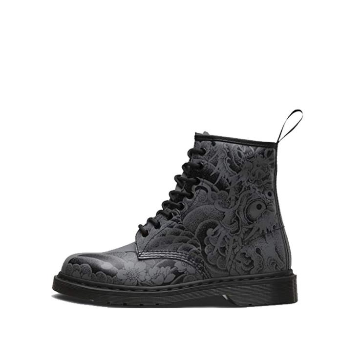 Boots Dr Martens BLACK+GUNMETAL - 1460-24239001