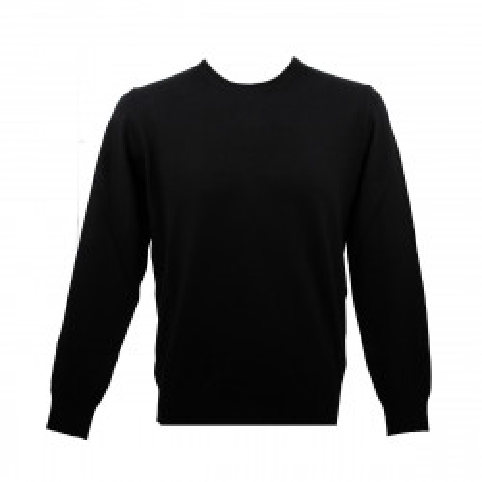 Real Cashmere Pull Real Cashmere (Noir) - IUB109841-GIROCOLLO-TOPP