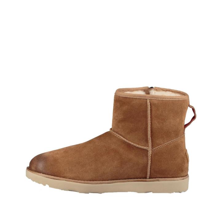UGG Boots Ugg CM ZIP WATERPROOF (Camel) - CLASSIC-MINI-ZIP-WATERPRO