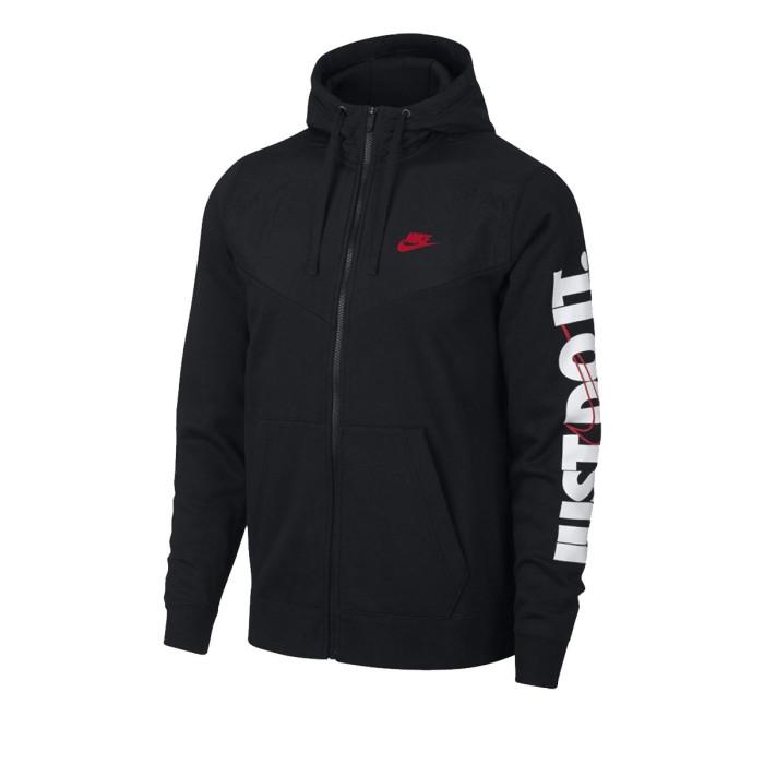 Sweat Nike M NSW HBR HOODIE FZ FLC - 931900-010