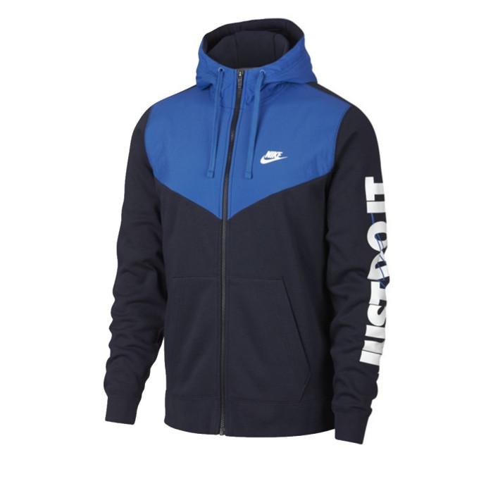 Sweat Nike M NSW HBR HOODIE FZ FLC - 931900-451