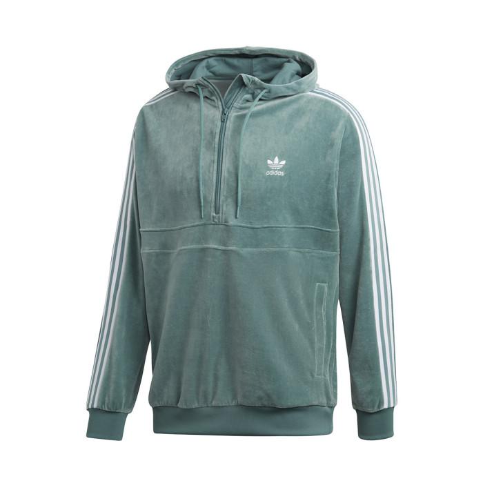 Sweat adidas Originals SWEAT CAPUCHE COZY HALFZIP - DV1624