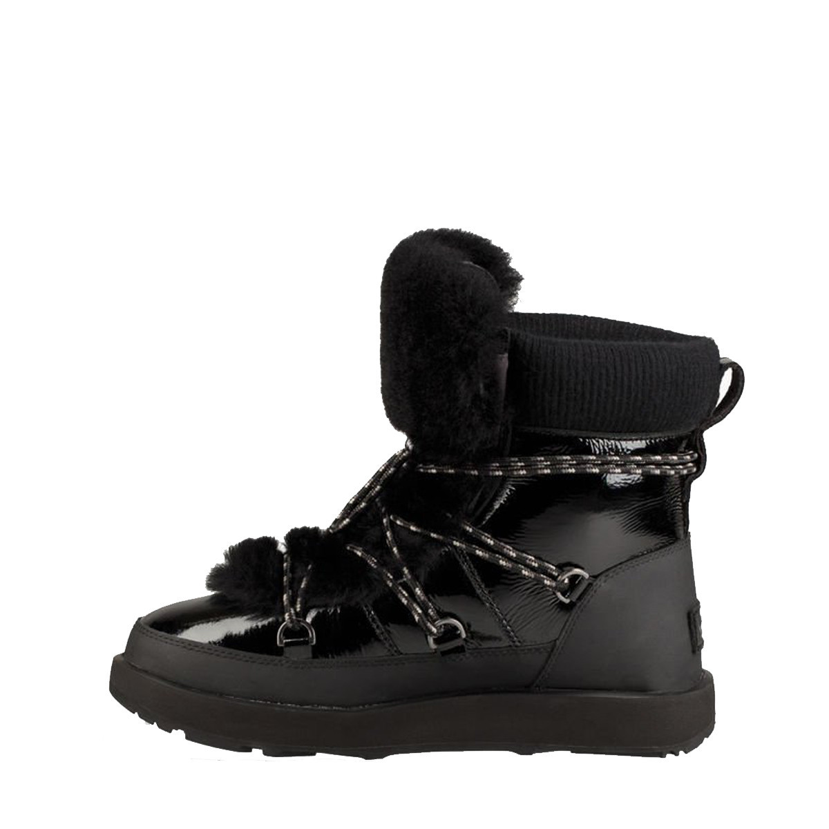 com Lacets Chaussures Highland À WaterproofnoirDowntownstock Ugg kOZTiwlPXu