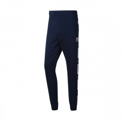 Pantalon de survêtement Reebok CL FT TAPED PANT - DT8141