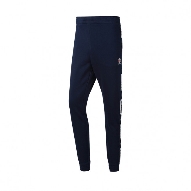 Reebok Pantalon de survêtement Reebok CL FT TAPED PANT - DT8141