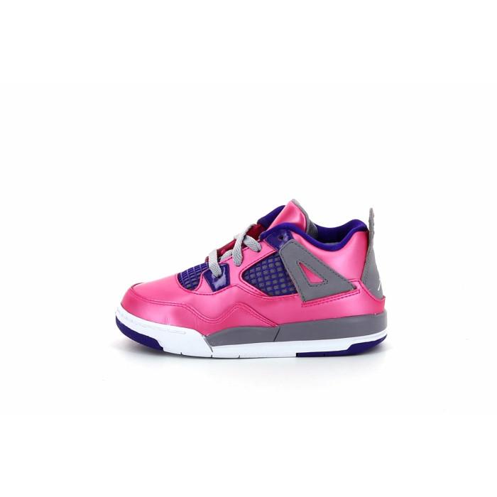 Basket Nike Air Jordan 4 Retro Bébé - Ref. 308500-607