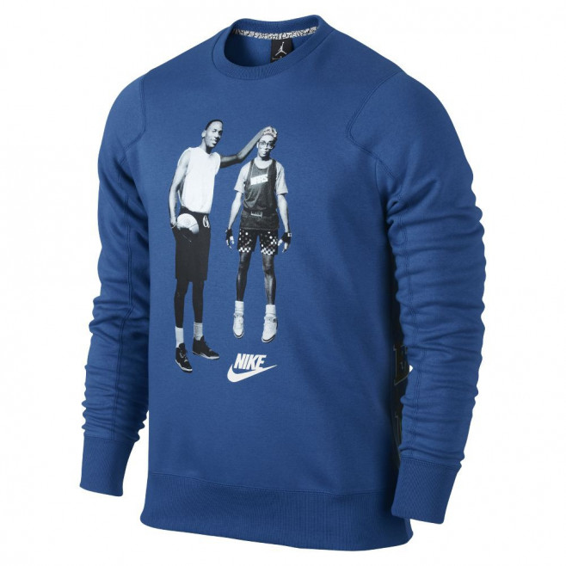 Sweat Nike Jordan Mike and Mars Fleece - Ref. 547675-434