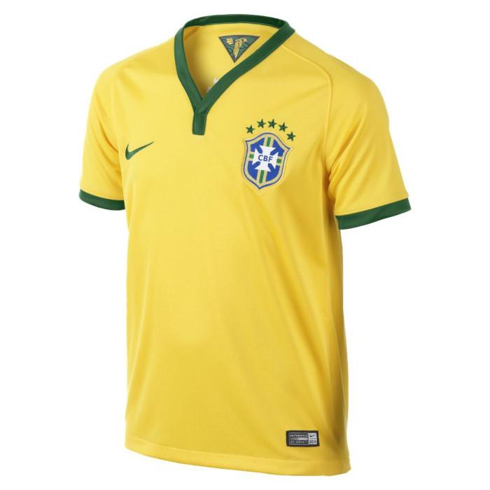Maillot Nike Junior Brasil CBF Stadium 2013/2014 - Ref. 575297-703