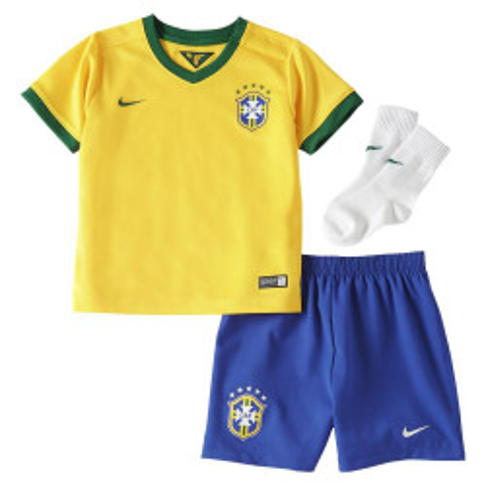 Ensemble de football Nike Bébé Brasil CBF Stadium 2013/2014