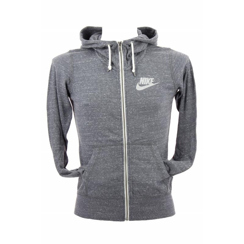 Sweat Nike Gym Vintage Full-Zip Hoodie - 545665-021